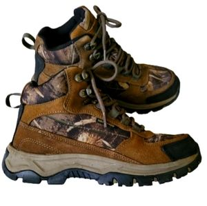 Brown Camo 7.5 Outdoor Life Hunting Hiking Boots